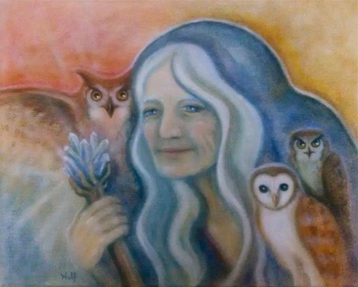 owl-crone-Bernadette Wulf