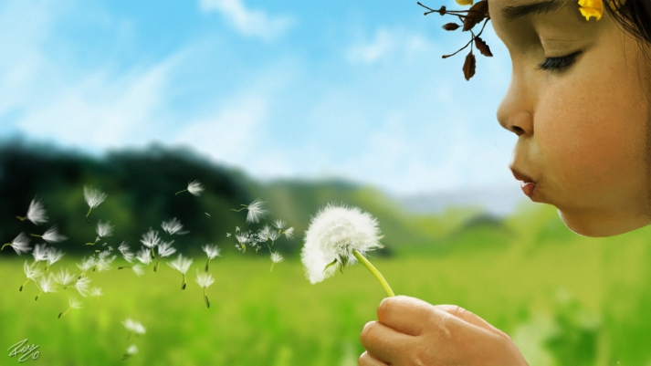 blowing-dandelion-drawing-wallpaper-3